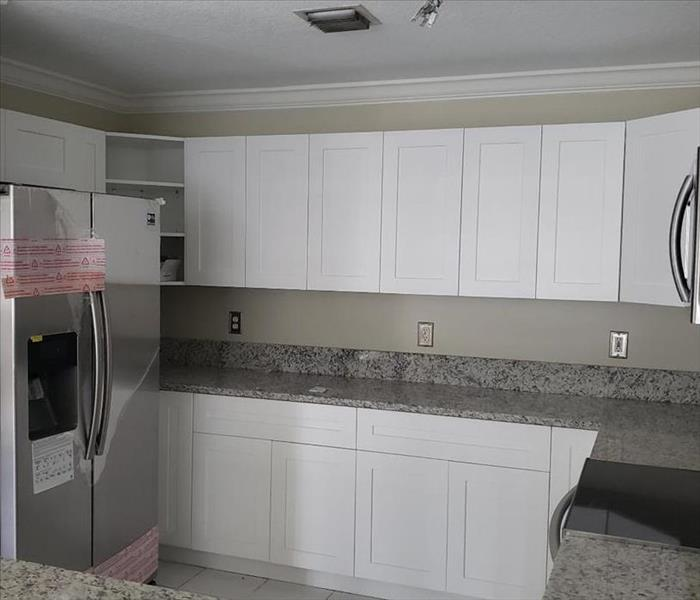 This is the completed kitchen