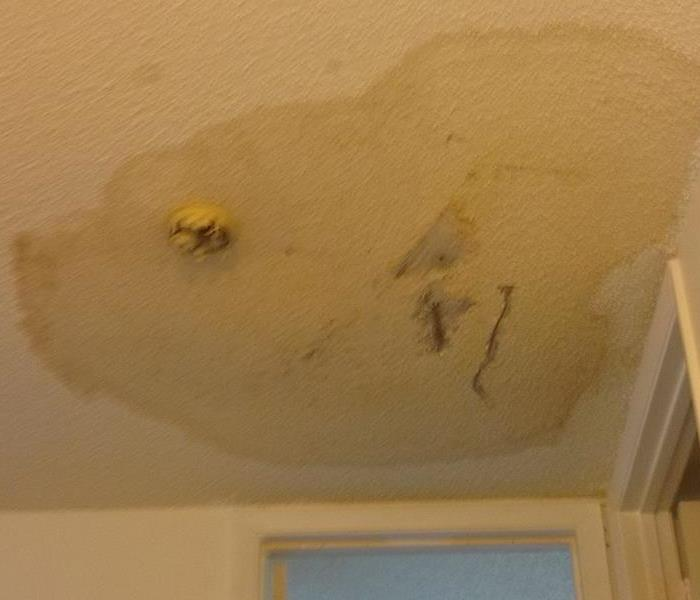 Damaged Ceiling In Coral Springs Home