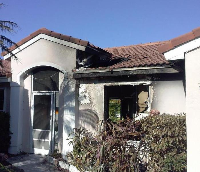 Coral Springs Home Catches On Fire