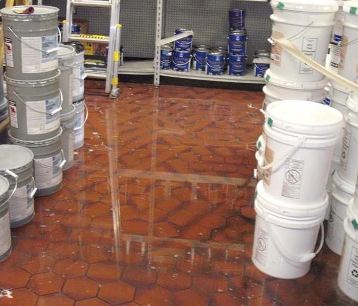 Paint Store Flooded In Tamarac
